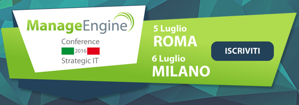 ManageEngine Conference 2016