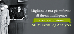 ManageEngine EventLog Analyzer, la piattaforma di threat intelligence