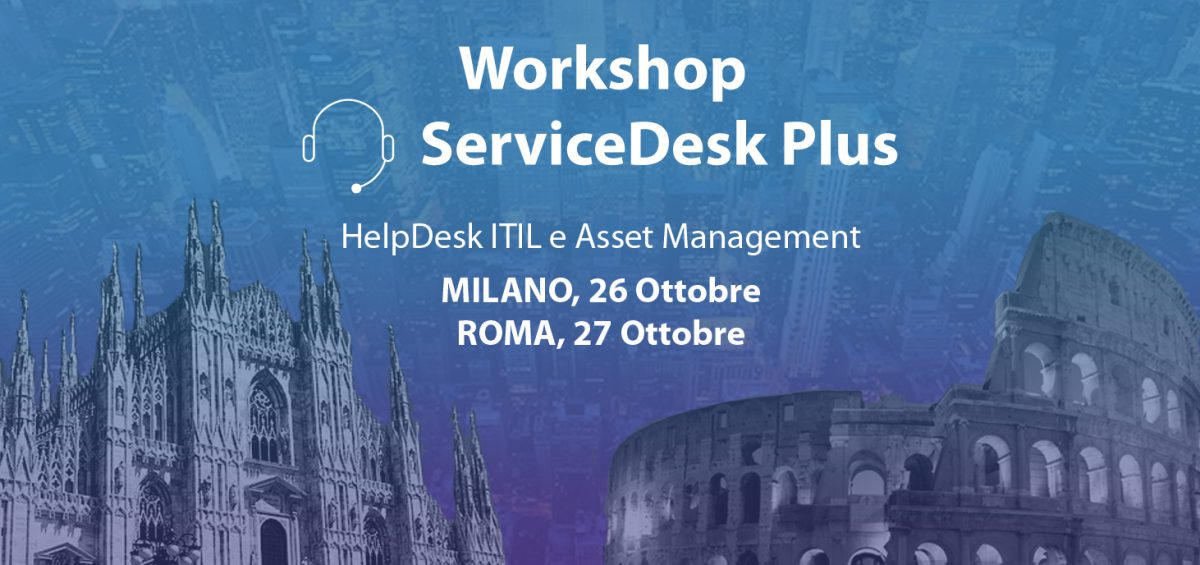 ManageEngine Workshop ServiceDesk Plus