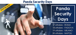 Bludis e Panda Security ti invitano ai Panda Security Days 2016