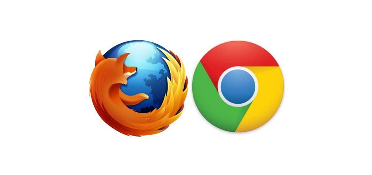 Firefox - Google Chrome