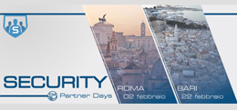Partecipa all'evento Sophos Security Partner Days