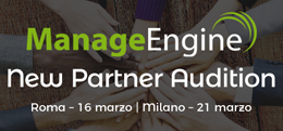 ManageEngine New Partner Audition