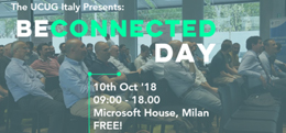 BeConnected Day: Milano, 10 ottobre 2018