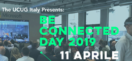 Be Connected Day 2019 - 11 Aprile - Milano