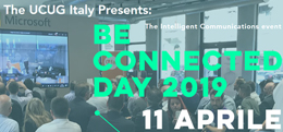UCUG Be Connected Day 2019: Milano, 11 Aprile