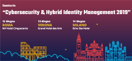 "Seminario ""Cybersecurity & Hybrid Identity Management 2019"""