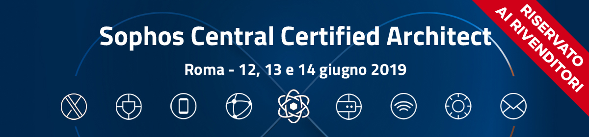 Sophos Central Certified Architect
