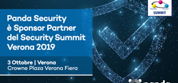 Panda Security al Security Summit: Verona, 3 ottobre 2019