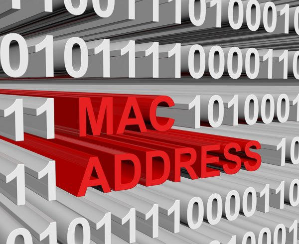 mac address - Bludis