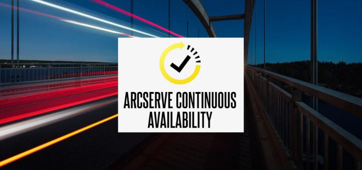 Arcserve Continous Availability