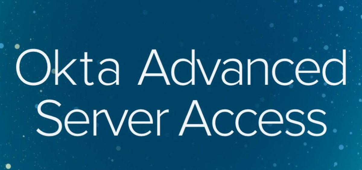 Okta Advanced Server Access - Bludis